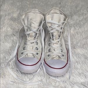 Converse All Star high tops in white